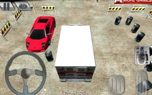 City parking 3D — Ambulance 1.3