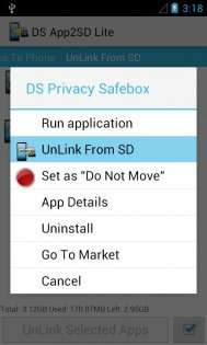 DroidSail Super App2SD (ROOT) 7.5