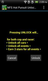 NFS Hot Pursuit Unlocker 2012.10