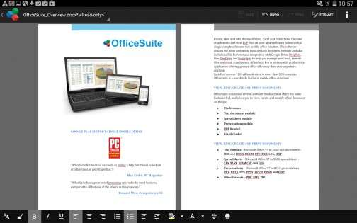 OfficeSuite 8 + PDF&HD для Android