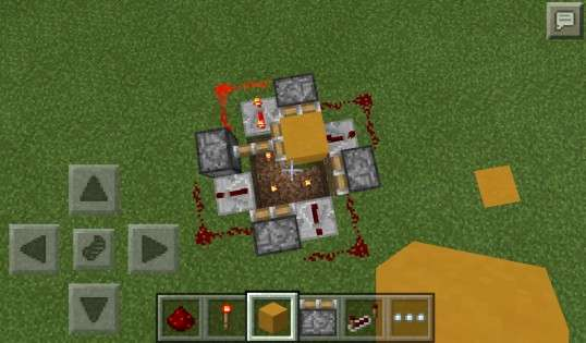 PocketPower / Byteandahalfs Redstone Mod 1.1 для Minecraft PE 0.11.1