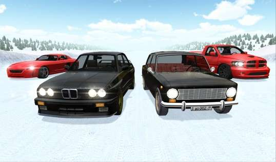 Russian Winter Traffic Racer 1.19