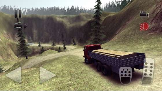Truck Driver steep road 1.04